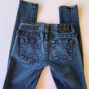 True Religion Casey denim jeans, size 24
